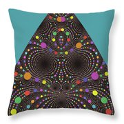 Gravity And Magnetism Throw Pillow