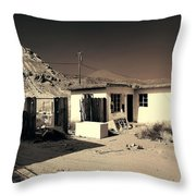 Gravity Flow Throw Pillow