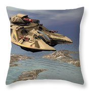 Gravity Tank Throw Pillow