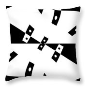 Gravity Zero Throw Pillow