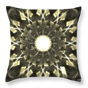 Gray Fog Throw Pillow