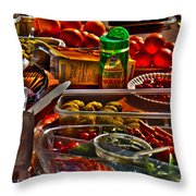Grazing Table 2 Throw Pillow