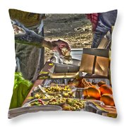 Grazing Table Throw Pillow