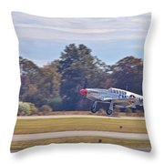 Greaser Throw Pillow