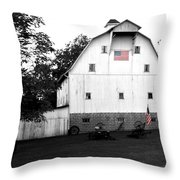 Great American Farmer Throw Pillow