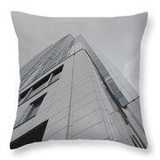 Great American Tower At Queen City Square In Cincinnati Throw Pillow