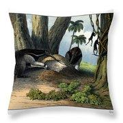 Great Anteater Throw Pillow