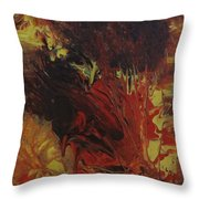 Great Ball Of Fire Throw Pillow