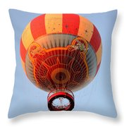 Great Ballon Ride Throw Pillow