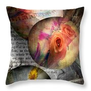 Great Balls Of Desire Throw Pillow