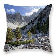 Great Basin National Park Throw Pillow