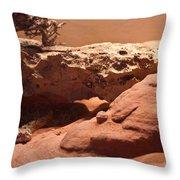 Great Basin Rattlesnake Throw Pillow