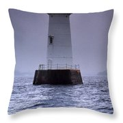 Great Beds Lighthouse Throw Pillow