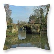 Great Bridge Warwick Throw Pillow