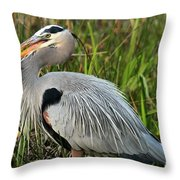 Great Catch Throw Pillow