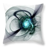 Great Collapse Throw Pillow