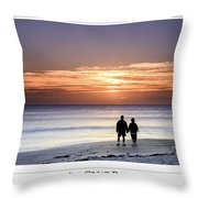 Great Day Poster Throw Pillow