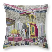 Great Exhibition, 1851 Indian Throw Pillow