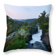 Great Falls Md Hdr 2 Throw Pillow