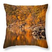 Great Falls National Park Throw Pillow