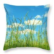 Great Fields Throw Pillow