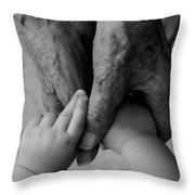 Great Grandpa's Love Throw Pillow