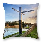 Great Haywood Junction Throw Pillow