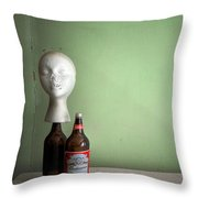 Great Head Throw Pillow