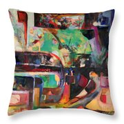 Great Is Peace Throw Pillow