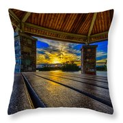 Great Night For A Picnic Throw Pillow