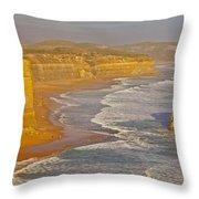 Great Ocean Road #4 Throw Pillow