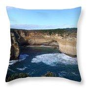 Great Ocean Road, Australia - Panoramic Throw Pillow