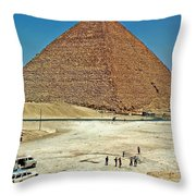 Great Pyramid Of Giza Throw Pillow