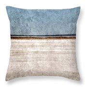 Great Salt Plains Throw Pillow