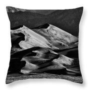 Great Sand Dune National Park At Sunrise Throw Pillow