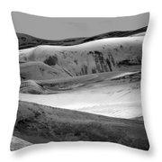 Great Sand Dunes - 1 - Bw Throw Pillow