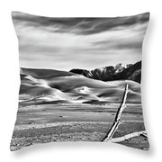 Great Sand Dunes 1 Throw Pillow