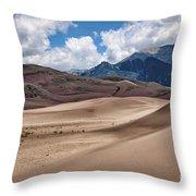 Great Sand Dunes #6 Throw Pillow