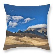 The Great Sand Dunes National Park 2 Throw Pillow