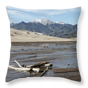 Great Sand Dunes Two Throw Pillow
