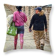 Great Tights Throw Pillow
