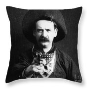 Great Train Robbery 1903 Throw Pillow