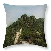 Great Wall 0033 - Lux Sl Throw Pillow