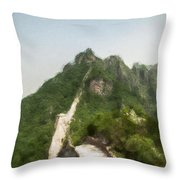 Great Wall 0033 - Neo Throw Pillow