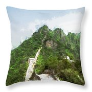 Great Wall 0033 - Oil Stain Sl Throw Pillow