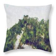 Great Wall 0033 - Plein Air 2 Sl Throw Pillow
