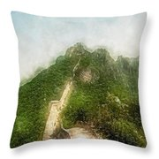 Great Wall 0033 - Traveling Pigments Sl Throw Pillow