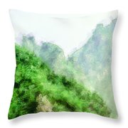 Great Wall 0043 - Academic Throw Pillow