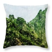 Great Wall 0043 - Pastel Pencils Hp Throw Pillow