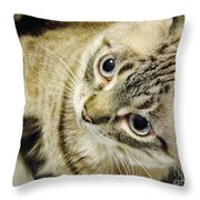 Missing You Baby Girl Throw Pillow